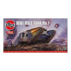 Airfix 981315 Mark IV Male 1:76