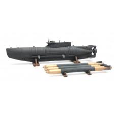 Artitec 387.12 Kleines U-Boot Seehund + Torpedos