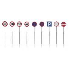 Artitec 387.262 NL Verkehrsschilder: Geschwindigkeit, Parkverbot 9 Stück
