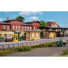 Auhagen 11452 Bahnhofsausstattung