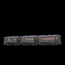Brawa 45639 Personenwagen Ci/CPwi der DRG, 3er-Set