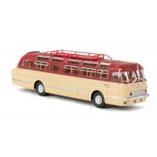 Brekina 59455 Ikarus 55 rubinrot/beige