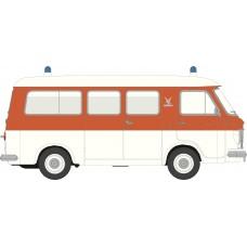 Brekina 34413 Fiat 238 Krankenwagen Falck rot/weiß