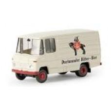 """Brekina 36827 MB L 406 D """"Dortmunder Ritter-Bier"""""""