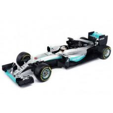 Burago 18001R F1 Mercedes AMG Petronas W07 Hybrid (#6 N. Rosberg) 1:18
