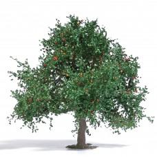 Busch 3652 Apfelbaum 75 mm, Sommer