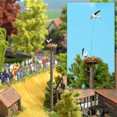 Busch 5481 Fliegender Storch« mit Nest