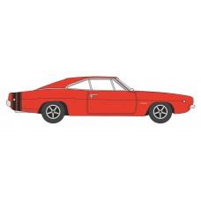 Busch 201129436 Dodge Charger 1968, Rot