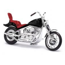 Busch 40151 Amerikanisches Motorrad, Schwarz