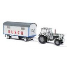 Busch 42814 Traktor Fortschritt mit Anhänger