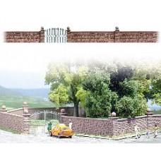 Busch 6014 HO Steinmauer mit Tor