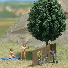 Busch 7669 Mini Welt: FKK Spur HO
