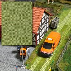 Busch 7430  3-D-Dekorplatte Rasengittersteine