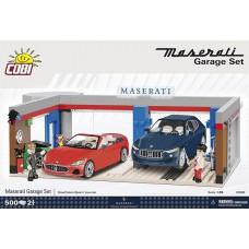 COBI 24568 Bausatz Maserati Garage Set
