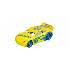 Carrera 30807 Digital 132 Disney·Pixar Cars 3 - Dinoco Cruz Slot-Car im Maßstab 1/32.