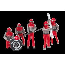 Carrera 21131 Figurensatz Mechaniker, Carrera Crew rot