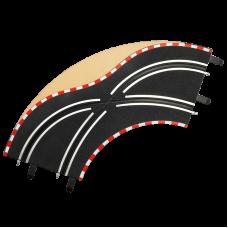 Carrera 61655 Spurwechselkurve K1/90