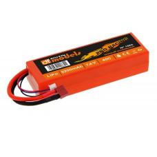 df models 1862 Lipo 7,4 Volt - 2S 7,4 Volt - 5200mAh - 45C - eck