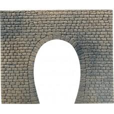 Faller 170830 Dekorplatte Tunnelportal, Naturstein-Quader