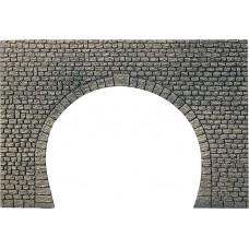 Faller 170831 Dekorplatte Tunnelportal, Naturstein-Quader