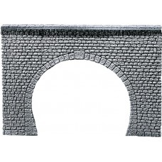 Faller 170881 Dekorplatte Tunnelportal Profi, Naturstein-Quader