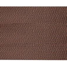 Faller 170806 Dekorplatte, Sandstein, rot