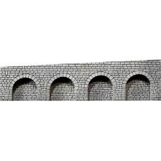 Faller 170839 Dekorplatte Arkaden, Naturstein-Quader