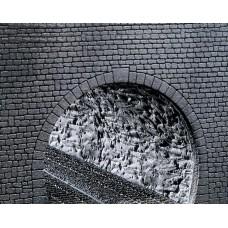 Faller 170886 Dekorplatte Profi Tunnelröhre, Felsstruktur