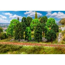 Faller 181524 15 Laubbäume, sortiert HO