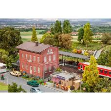 Faller 190295 Bahnhof-Set Waldbrunn