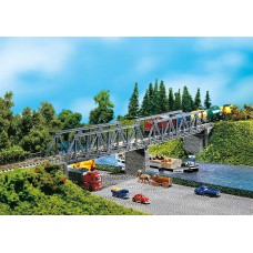 Faller 222578 2 Kastenbrücken mit Brückenköpfen