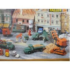 Faller 130984 - Baustelle »Bauunternehmung Hermann GmbH«