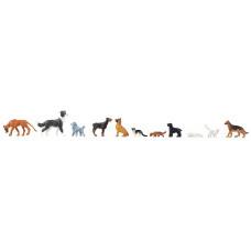 Faller 151902 Hunde und Katzen