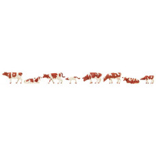 Faller 151903 Kühe, braun gefleckt