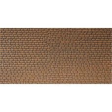 Faller 170611 Mauerplatte, Sandstein, rot
