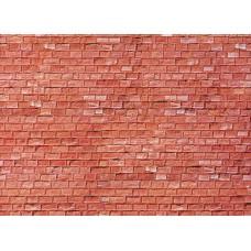 Faller 170613 Mauerplatte, Sandstein, rot