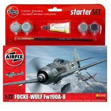 Airfix 985110 Small Starter Set, Focke Wulf 190A-8  1:72