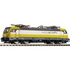 FLEISCHMANN 738902  N E-Lok Re 487 swiss rail traffic  DC analog