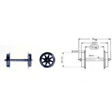 Fleischmann 6563 Doppelspeichen-Austausch-Radsatz