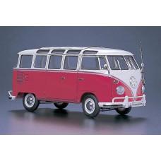 Hasegawa 621210 Volkswagen Typ 2 Minibus, 23-Fenster, 1963 1:24
