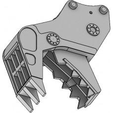Hasegawa 652161Hitachi Doppelarm-Baggermit Brecher/Schneider
