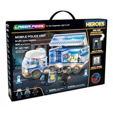 Heroes Laser Pegs 18602 Mobile Police Unit