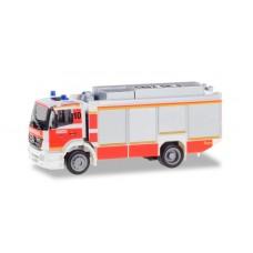 """Herpa 094634  Mercedes-Benz Axor Rüstwagen RW2 """"Feuerwehr Düsseldorf"""""""
