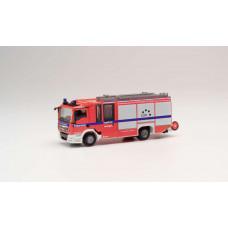 """Herpa 095242 MAN TGS M Ziegler Z-Cab Löschfahrzeug """"Feuerwehr Augsburg"""""""