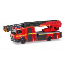 """Herpa 095372 Mercedes-Benz Atego `13 Drehleiter """"Feuerwehr Herzogenrath"""""""