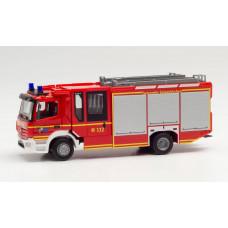 Herpa 095587 Mercedes-Benz Atego '13 Ziegler Z-Cab Feuerwehr