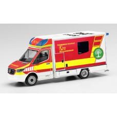 """Herpa 095921 Mercedes-Benz Sprinter `18 Fahrtec RTW """"Feuerwehr Bocholt"""""""