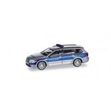 """Herpa 93910  VW Passat Variant GTE """"Polizei Hamburg"""""""