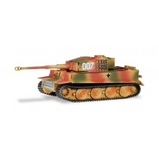 Herpa 746441 Kampfpanzer Tiger, letzte Version, Panzer Abt. 101 Normandie Juni 1944 / Fighting tank Tiger