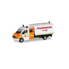 """Herpa 094979  Mercedes-Benz Sprinter Doppelkabine mit Plane """"Feuerwehr Rhede"""""""